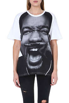 ELEVEN PARIS Smith moustache t-shirt
