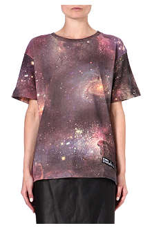 ELEVEN PARIS West 77 cosmic-print t-shirt