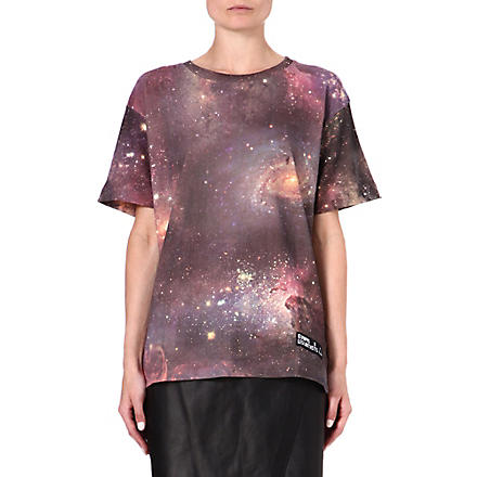 ELEVEN PARIS West 77 cosmic-print t-shirt (Multi
