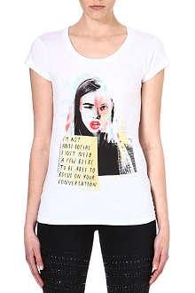 ELEVEN PARIS Cara Delevingne t-shirt