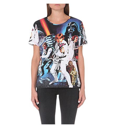 ELEVEN PARIS Star Wars cotton-jersey t-shirt (Oltawa print