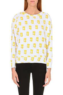 ELEVEN PARIS Bart-print jersey sweatshirt