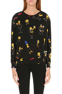 ELEVEN PARIS The Simpsons Blackout sweatshirt