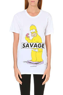 ELEVEN PARIS The Simpsons Homer Savage t-shirt