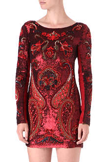 NEEDLE AND THREAD Opulent embellished dress