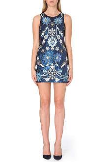 NEEDLE AND THREAD Sequin-embellished mini dress