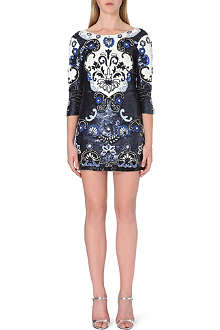 NEEDLE AND THREAD Midnight Floral mini dress