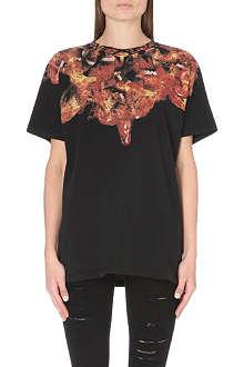 MARCELO BURLON Firesnake cotton-jersey t-shirt