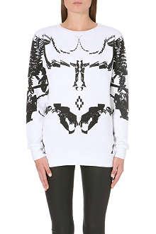 MARCELO BURLON Bones sweatshirt