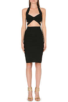 CELEB BOUTIQUE Andrea bandage cut-out dress