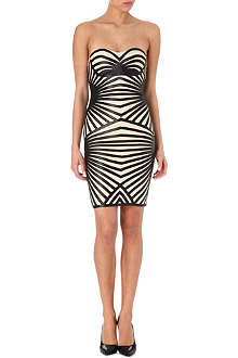 CELEB BOUTIQUE Aysha strapless jersey dress