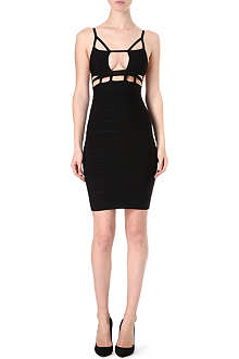 CELEB BOUTIQUE Cut-out bodycon dress
