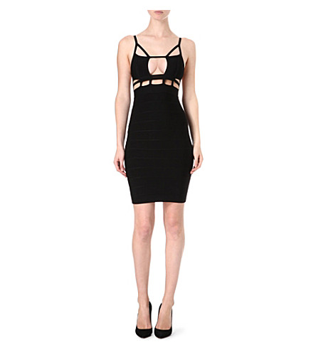 CELEB BOUTIQUE Cut-out bodycon dress (Black