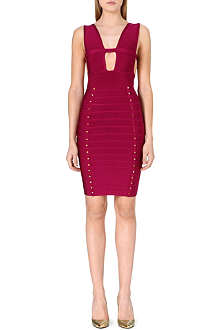 CELEB BOUTIQUE Studded bandage dress