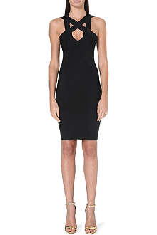 CELEB BOUTIQUE Finia cross-over bandage dress
