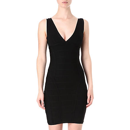 CELEB BOUTIQUE Stretch bandage dress (Black