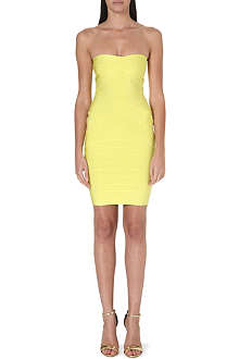 CELEB BOUTIQUE Leyla strapless bandage dress