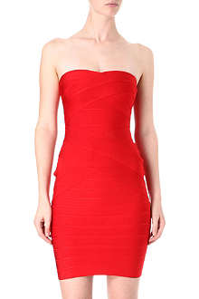 CELEB BOUTIQUE Sweetheart neckline bandage dress