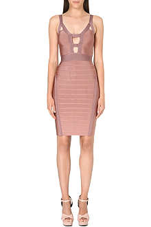 CELEB BOUTIQUE Maddie cut-out bandage dress
