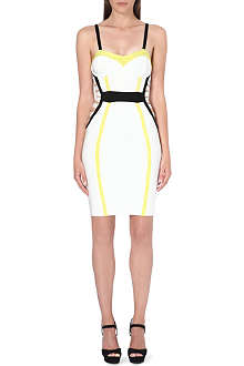 CELEB BOUTIQUE Nahemi bustier bandage dress