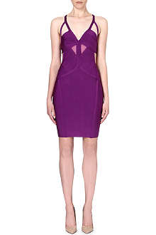 CELEB BOUTIQUE Salma mesh bandage dress
