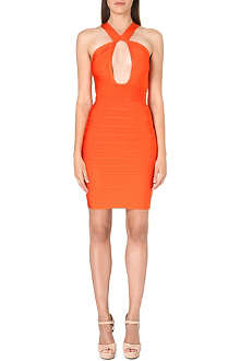 CELEB BOUTIQUE Solange cut-out bandage dress