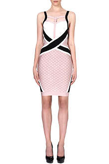 CELEB BOUTIQUE Tatum strappy bandage dress