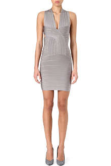 CELEB BOUTIQUE Vanessa cross-over bandage dress