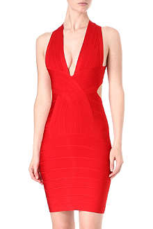 CELEB BOUTIQUE Cross-over bandage dress