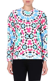 JADED LONDON Geo Pink sweatshirt