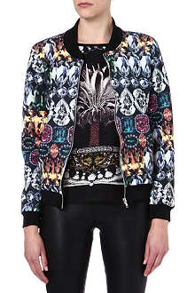 JADED LONDON Gemstone bomber jacket