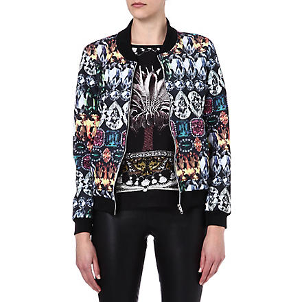 JADED LONDON Gemstone bomber jacket (Gemstone
