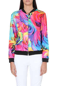 JADED LONDON Roses bomber jacket