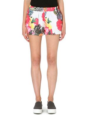 JADED LONDON Fruit printed shorts