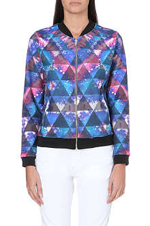 JADED LONDON Tie Dye bomber jacket