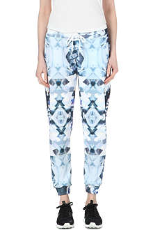 JADED LONDON Diamond-print jogging bottoms