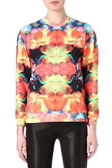 JADED LONDON Neon Floral sweatshirt