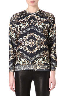 JADED LONDON Gold Chain sweatshirt