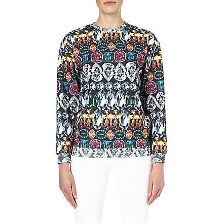 JADED LONDON Gemstone sweatshirt (Gemstone