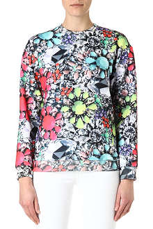 JADED LONDON Neon Jewel sweatshirt