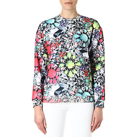 JADED LONDON Neon Jewel sweatshirt (Multi