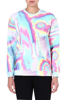 JADED LONDON Violet Swirl sweatshirt