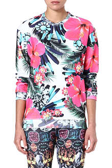 JADED LONDON Tropical-print sweatshirt