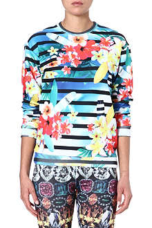 JADED LONDON Tropical Stripe sweatshirt