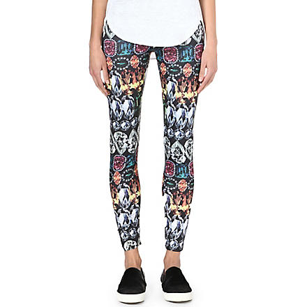 JADED LONDON Gemstone stretch-jersey leggings (Gemstone