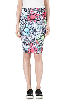 JADED LONDON Jewel-print skirt
