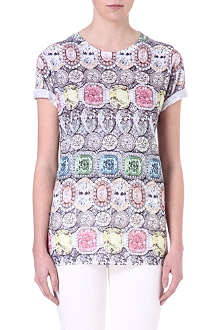 JADED LONDON Pastel Gemstone t-shirt