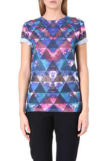 JADED LONDON Tie Dye printed t-shirt