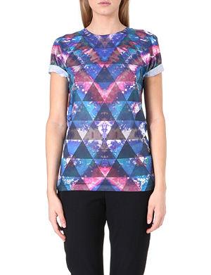 JADED LONDON Tie Dye printed t-shirt