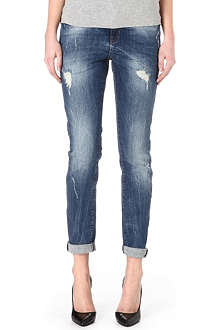 NOISY MAY Kim loose-fit mid-rise jeans